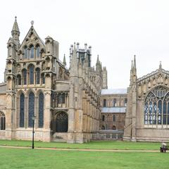 Ely Cathedral exterior east end