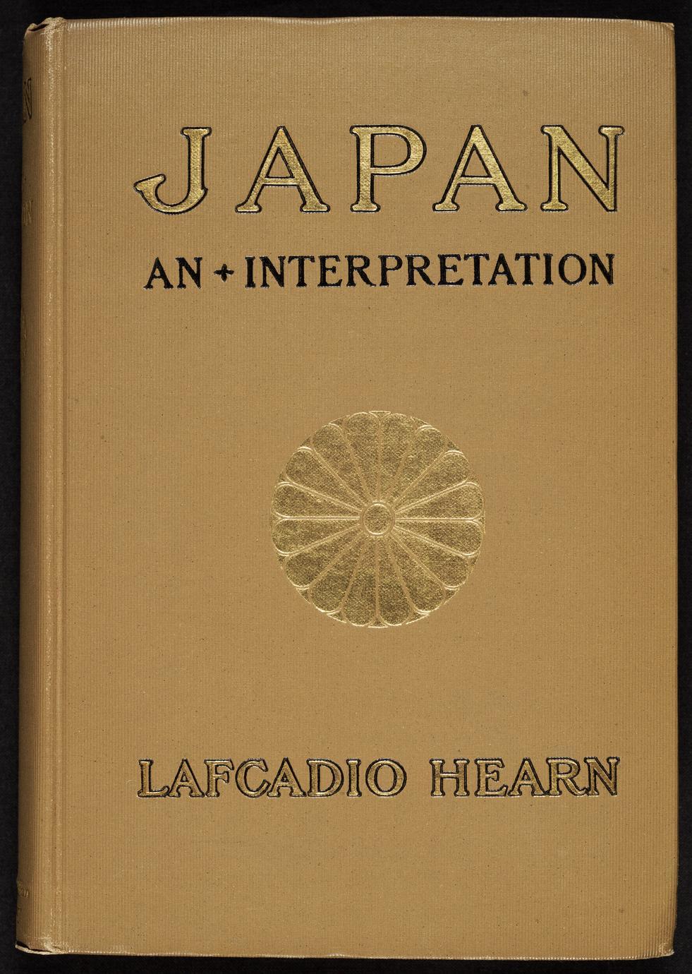 Japan : an attempt at interpretation (1 of 2)