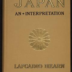 Japan : an attempt at interpretation