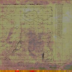 [Public Land Survey System map: Wisconsin Township 37 North, Range 08 West]