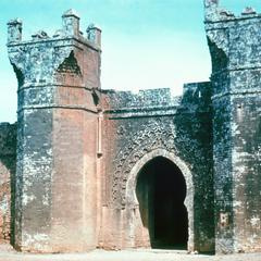 A Gateway at Chellah in Rabat