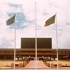 The National Assembly Building in Lusaka