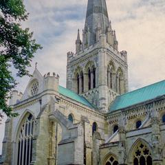 Chichester Cathedral exterior north transept