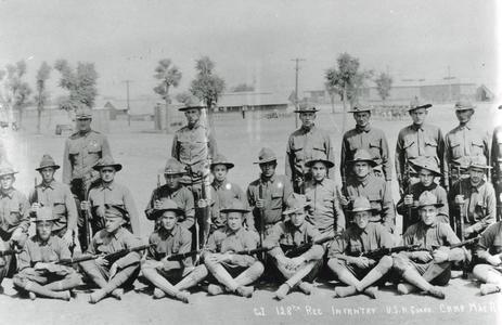 Company I at Camp MacArthur -#3