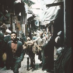 In the Souk (Old Market Area) in Fez
