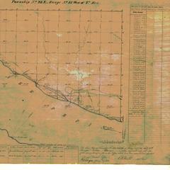 [Public Land Survey System map: Wisconsin Township 23 North, Range 15 West]
