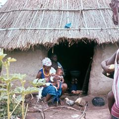 Maninka Family at Home