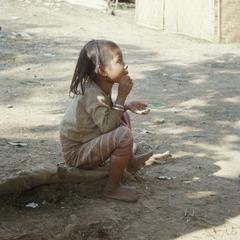 Ethnic Khmu' girl