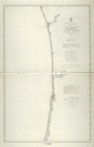 Lake Michigan coast chart no. 7. South Haven to Grand Haven