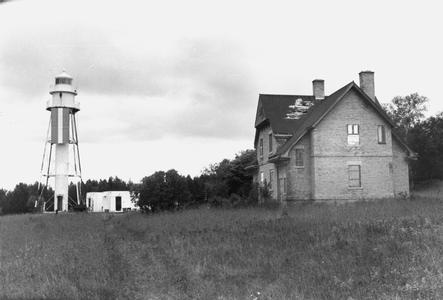 Plum Island Range Light, Plum Island, Wisconsin
