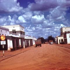 Street in Masindi (Bunyoro Province)
