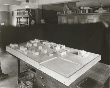 Architectural model of campus 1912-1916