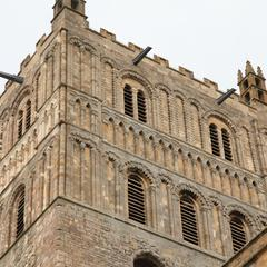 Tewkesbury Abbey from the southwest