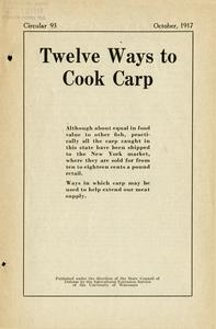 Twelve ways to cook carp
