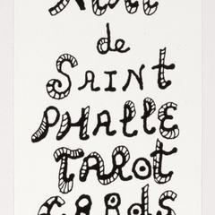 Niki de Saint Phalle tarot cards