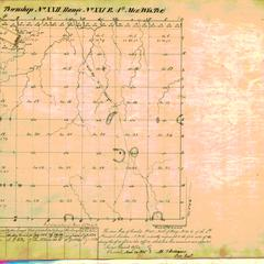 [Public Land Survey System map: Wisconsin Township 22 North, Range 21 East]