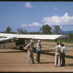 Porter plane on ground