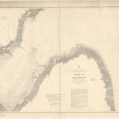 Saginaw Bay and part of Lake Huron