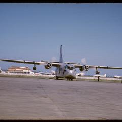 Vientiane airport--Air America planes