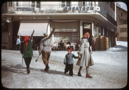 Winter in a Bavarian village