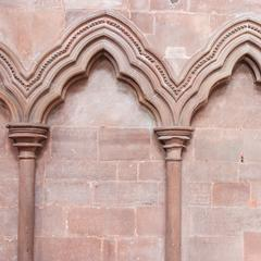 Carlisle Cathedral interior north choir aisle