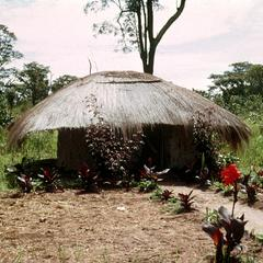 Traditional Style Bachelor's House in Luapula Province