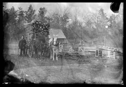 Pulling logs