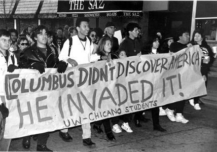Quin-centennial protest