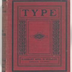 Specimen book of type