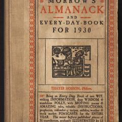 Morrow's almanack and every-day-book for