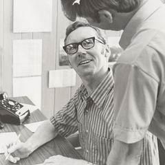 George A. Condon and John Schwenkner, Janesville, 1970