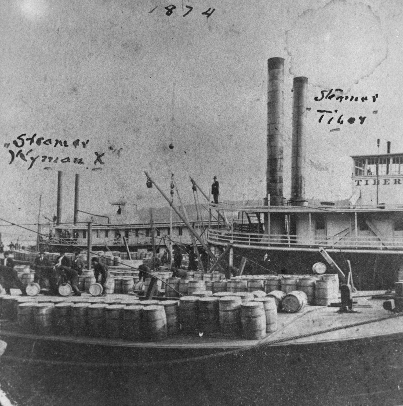 Tiber (Towboat/Rafter, 1862-1888)