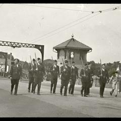 July Fourth parade of 1942