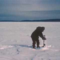 Water sampling North Temperate Lakes Long Term Ecological Research (LTER) (5)