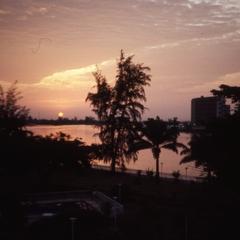 Sunset in Lagos