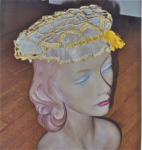 Crocheted day or night cap