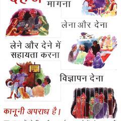 Demanding dowry