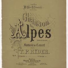 Chanson des Alpes