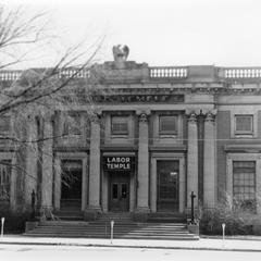 Janesville Post Office (later, a Labor Temple)