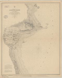 Preliminary chart of Marquette Harbor, Lake Superior