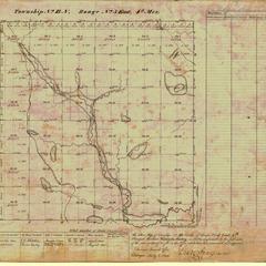 [Public Land Survey System map: Wisconsin Township 13 North, Range 05 East]