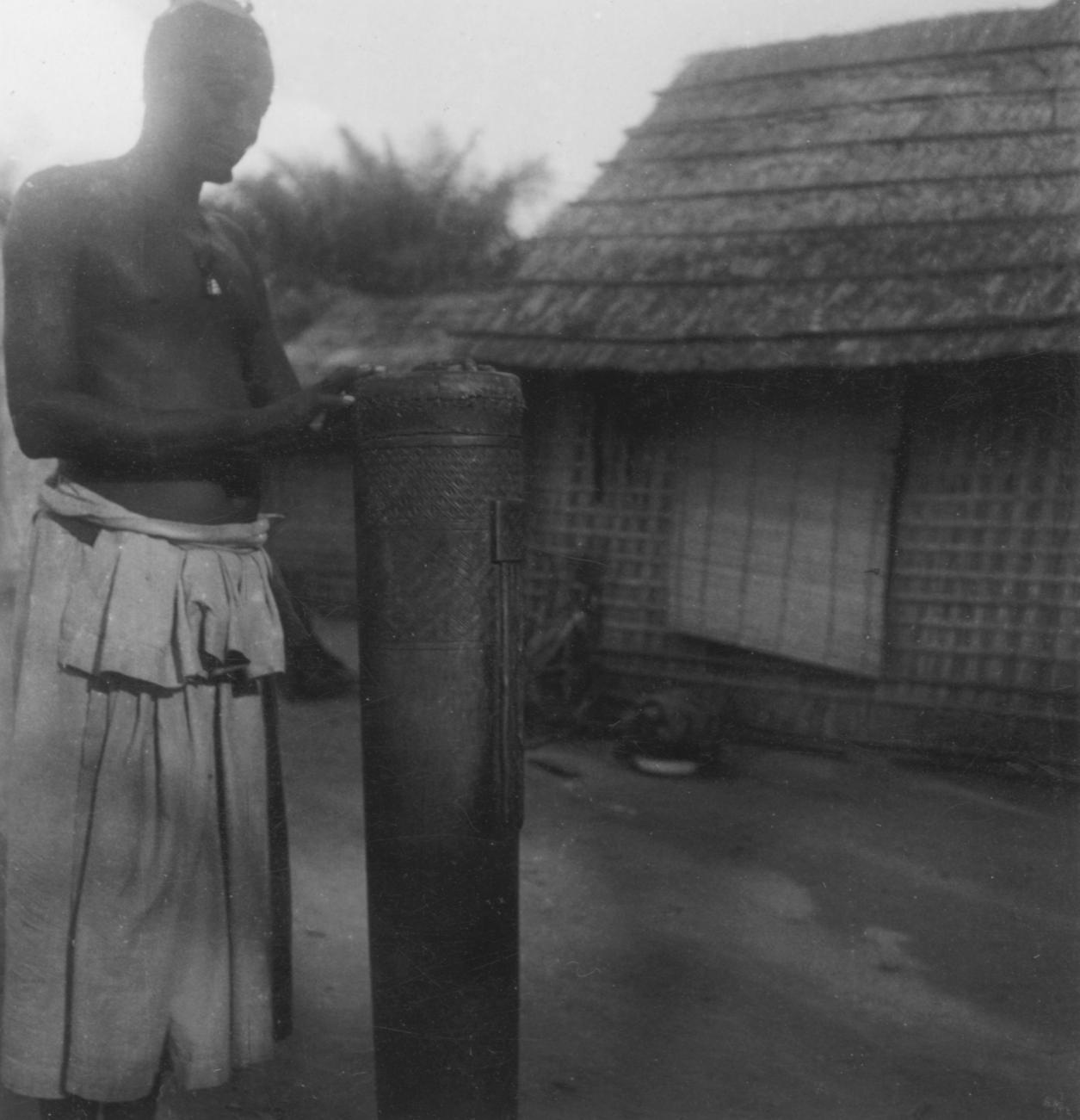 Shoom, a Tall Kuba-Pyaang Drum