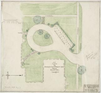 Plan, Bascom Hall, 1928