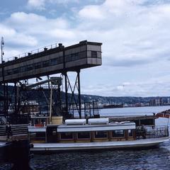 Boat in Oslo harbor