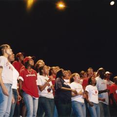 UW Gospel Choir performs during 2004 MCOR