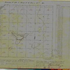 [Public Land Survey System map: Wisconsin Township 50 North, Range 06 West]