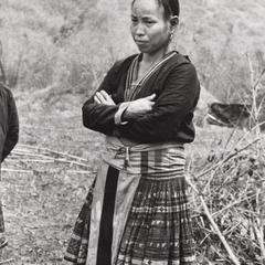 A Blue Hmong woman in Houa Khong Province