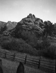 Mountains in Estes Park