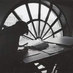 Studying in the Letters and Science Department.