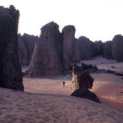 Fantastic Rock Formations on Tassili Plateau